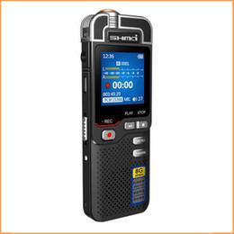 Wholesale Mini Voice Activated Recorder - Wholesale-2016 New Arrival SHMA D60 Mini Clip USB Pen 8GB Voice Activated Digital Audio hifi Voice Recorder Mp3 50hours Recording