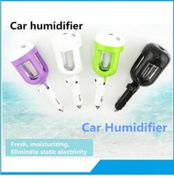 Wholesale steam cleaner portable - Air Mist Diffuser Purifier Car Humidifiers Air Cleaning Mini Charging Portable Water Bottle Steam Humidifier hot free 2017