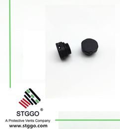 Argentina M12 * 1.0 tipo corto Tapón de ventilación de plástico con rendimiento impermeable adecuado para 5 mm de espesor de la carcasa, respiraderos de protección Suministro