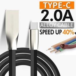 2019 fitbit überspannungskabel Zink-Legierungs-Mikro-USB-Telefon-Kabel 1M 3.3ft geformtes Rhombus TPE Kabel Zink-Legierungs-Stecker USB 2.0 Synchronisierungs-Daten-Kabel