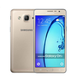 Wholesale Android Phones Dual Core - Refurbished Samsung Galaxy On7 G6000 Cell Phone Quad Core 5.5Inch 1280*720 Screen Dual Sim 16G ROM 13.0MP