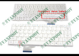 Wholesale Asus Notebook Keyboards - New and Original Notebook Laptop keyboard for ASUS EeePC 700 701 701SD 900 901 900hd 900A 2G 4G 8G Series White US Version - V072462AS1 Vers