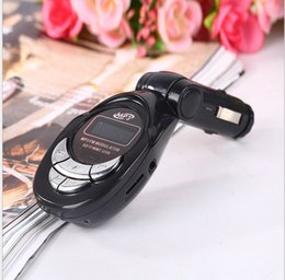 Wholesale Car Mp3 Tuner - Universal Streaming Car Wireless Bluetooth Car Kit AUX Audio Music Receiver Adapter Handsfree with Mic For Phone MP3