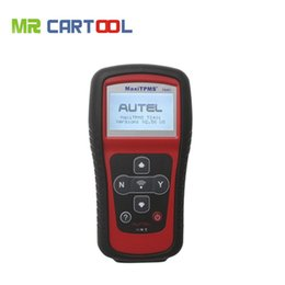 Wholesale Maxitpms Autel - Wholesale- Top rated Professional Lowest Price Autel TPMS System MaxiTPMS TS401 V2.56 DHL Free Shipping(wholesale retail)