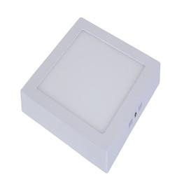 Wholesale Surface Mount Bright White Led - Carton LED Panel Lights Surface Mounted 85 Lm w AC85-265V Super Bright SMD2835 LED Panel Lights with 3 Light Color