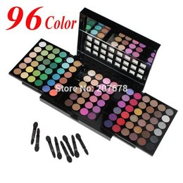 Wholesale Eyeshadow 96 - Wholesale-Free Shiping 5 Layer Design 96 Full Pigment Color Eyeshadow Makeup Eye Shadow Palette,
