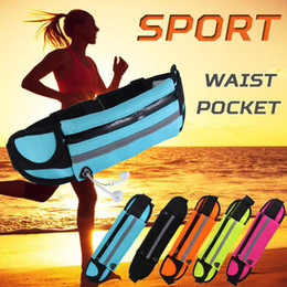 Wholesale Iphone 5s Gym - Universal 4.7 inch Waterproof Sports Running Waist Pocket Pouch Belt Case Bag For iPhone 7 Plus 6 6S 5 5S Samsung S7 edge S6 Note 5
