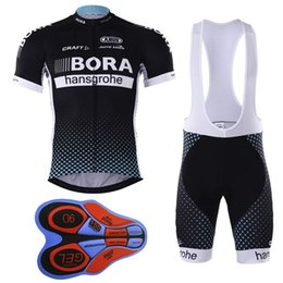 Wholesale Dh Shorts - 2017 bora team Summer dh Pro sporting Racing COMP UCI world tour Porto 9d gel cycling jerseys fh Bike Ciclismo clothing manufact