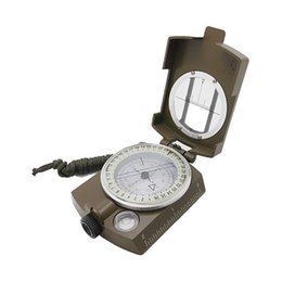 Wholesale Camp Navigator - DC60-2A Professional Pocket-Style Multifunction Military Army Geology Sighting Compass Navigator for Outdoor Hiking ,Camping