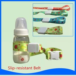 Wholesale Baby Product Bottle - Wholesale- New Practical Slip-resistant Belt For Baby Bottle Home Using Convenient Baby Product Stroller Rope Accessories
