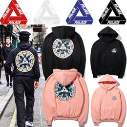 Wholesale Winter Jacket Women Hoody - 2017 autumn winters Palace the zodiac pan triangle men women hooded fleece jacket Hoody Sweatshirt Mens Hoodies Streetwear Clothing Kanye