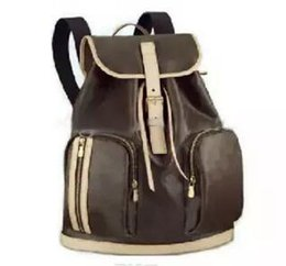 Wholesale Quality Barrels - Hot Sell high quality PU leather women's backpack Style BOSPHORE 40107 Backpack ladies backpack travel bags Luxury brand school bag