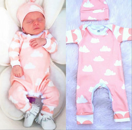 Wholesale Wholesale Long Sleeved Baby Rompers - Wholesale- New 2016 Autumn Winter Baby Rompers clothes long sleeved Newborn Boy Girl Baby Jumpsuit newborn baby Clothing