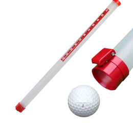 Wholesale Golf Retriever - Wholesale- Golf Ball Pick Up Tool Ball Retriever Golf Green Accessories Hold 21pieces Golf Ball