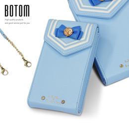 Wholesale Cell Vega - Wholesale- Samantha Vega Sailor Moon Mobile Phone Messenger Bags 20Y Anniversary Limited Ladies bow hasp long PU leather shouder bag
