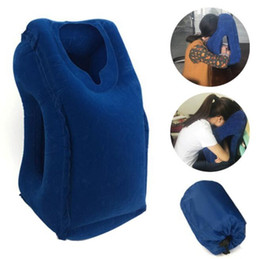 Wholesale travel neck pillows for airplanes - Inflatable Cushion Travel Pillow The Most Diverse & Innovative Pillow for Traveling Airplane Pillows Neck Chin Head Support
