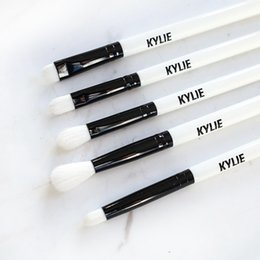 Wholesale Christmas Makeup Brush Gift Set - Kylie Jenner Holiday Edition Limited Edition brush Makeup Brush Set 5 pcs Christmas gift eye shadow brushes sets