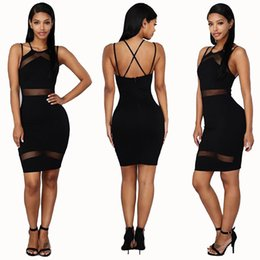Wholesale Red Cut Out Bodycon Dress - Summer Runway Dress Women Evening Bandage Dress 2017 Wine Red Grid cut out short sleeve mini Sexy Celebrity Party Dresses
