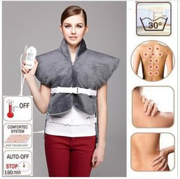 Wholesale Infrared Heat Therapy Pad - Far Infrared Physiotherapy Electric Heating Vest Back Support Shoulder Pad Vest Heated Shawl Suitable For Back Pain Relief