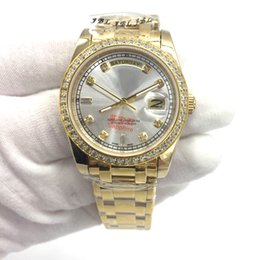 Wholesale Luxury Women Watches Lady Diamond - High quality DAY-DATE Automatic Mechanical Gold Stainless Steel Boy Girl Watch,Luxury Diamonds Classic Style Unisex Men Women Lady watch