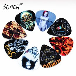 Wholesale Custom Made Band - wholesale SOACH 10pcs Newest Custom-made band Guitar Picks Thickness 1.0mm Guitar Accessories