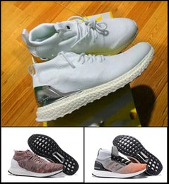 Wholesale Womens Nipples - Hot Sale Top quality popular womens and mens Kith Ultra Boost Mid 1 Multicolor shoes with nipple top quality 2017 sneaker size 36-44