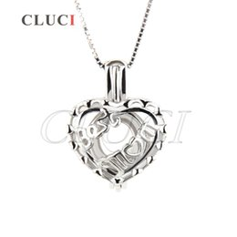 Wholesale Moms Christmas Gifts - Pack of 3 BEST MOM 925 sterling silver locket pendant 17*14*9mm