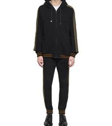 Wholesale Mens Top Coat Slim Fit - Top Quality New Winter Plus Velvet Coats Men Hoodies+Pants Warm Thicken Slim Fit Sporting Tracksuits Mens Hoodies And Sweatshirts
