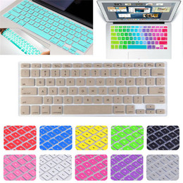 Wholesale Retina Tablet Pc - Rubberized Hard Tablet PC Case Shell + Keyboard Cover for Macbook Pro 13 15 Retina 12 13 with DHL