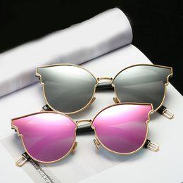 Wholesale Korean Men Sun Glass Fashion - Polarized Sunglasses For Women With Personality Cat Eye Brand Designer Luxury Sun Glasses High Quality Korean Version Sunglass UV400