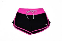 Wholesale Loose Pants For Women Wholesale - Wholesale- 2016 Summer Beach Running Shorts For Women Femal Elastic Waist Short Pants Jogging Loose Solid Soft Comfortable Fitness Shorts