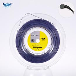 Wholesale Strings Tennis Racket - Quality KELIST Big Banger Alu Power Rough Equvelent Diameter 1.25mm 16L Length:200m tennis racket string Silver