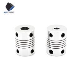 Wholesale Flexible Shaft Couplings - 5PCS 3D printer parts CNC Motor Jaw Shaft Flexible Coupling Coupler 5x8x25mm 5x5x25mm
