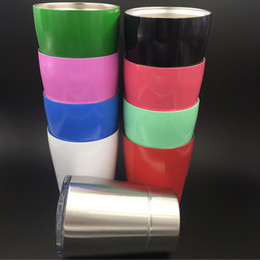 Wholesale Wholesale Mini Tumblers - 8oz 240ml Mini tumbler Stainless Steel Mugs Cup Outdoor Travel Stemless Wine And Cocktail Glasses Wine Glas mug cup HH-C32