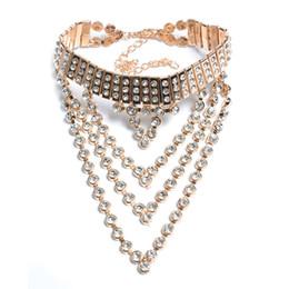 Wholesale Snake Necklace Short - New fashion necklace collar short necklace & pendant luxury crystal choker statement choker necklace maxi jewelry wholesale