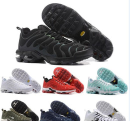 Wholesale Sneakers For Women Shoes Height - 2017 Maxes Fashion Increased Tn Ventilation Breathable Light Casual Shoes for men and women Olive Cargo GS sports sneakers
