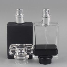 Wholesale travel size spray bottle wholesale - 30ml transparent glass empty bottle perfume bottle atomizer spray can be filled bottle spray box travel size portable F20171500