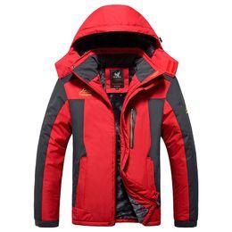 Wholesale 8xl Outdoor Jackets - Wholesale- brand tops 2016 Brand Men Winter down coat Jacket Windproof Waterproof windbreaker Jacket men outdoor sports coat 7XL 8xl 9xl,