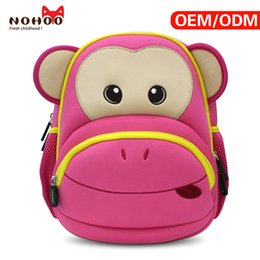 Wholesale China Bags Manufacturer - NOHOO school bags new arrival China Manufacturer soft and lightweight kids animal backpack child neoprene backpacks