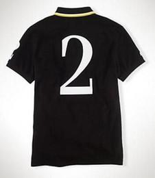Wholesale Men S Big Watch - 2017 Hot Sale Fashion mens Casual shirt short sleeve Sports Shirts big horse embroidery polo t-shirts black watch