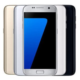 Wholesale Cellphones Waterproof - Refurbished Original Samsung Galaxy S7 G930F G930A G930T G930V G930P 5.1 inch Waterproof Quad Core 4GB RAM 32GB ROM 12MP 4G NFC DHL 1pcs