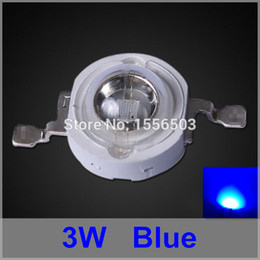 3w blue bead Promo Codes - 50 Pcs lot LED Chip Beads 3W Blue High Power LEDs Balls Blue Grow Light Source LED Lamp Emitting Diode