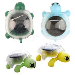 Wholesale Solar Energy Mini Tortoise Toy - Wholesale-1pcs Creative Mini Solar Powered Energy Cute Turtle Tortoise Gadget Gift Educational Toy For Kids