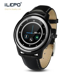 Wholesale Google Phone Calls - Smart watch DM365 with touch screen full round High resolution IPS display google android wear smart watch for android ios phones