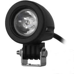 Wholesale Led Apply - 10W 10 - 30V Car Spotlight Headlamp LED 1000LM 6000K White Light Round Design Apply Different Types of Vehicles External Lights