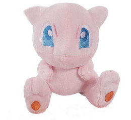 Wholesale video game center - OHMETOY Pocket Cute Center Mewtwo Stuffed Plush Doll Mini Figure 13cm Anime Figure Toy Birthday Gift For Kids