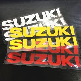 Wholesale Suzuki Hayabusa Mirrors - Universal motorcycle stereo Reflective stickers fit for suzuki GSXR600 GSXR750 GSXR1000 HAYABUSA GSXR1300 GSF1250 BANDIT