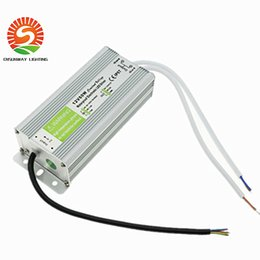 Wholesale Ip67 12v Power Supply Waterproof - IP67 Waterproof LED Driver 12V 60W 100W 120W 250W Outdoor Use Transformer 110V-240V To 12V Power Supply For Underwater Light