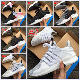 Wholesale Zebra Flat Shoes Women - 2017 Hot Sale EQT Support ADV Primeknit 93 Zebra Boost Women Men Running Shoes Primeknit93 Fashion Casual Sports Sneakers Size 36-44