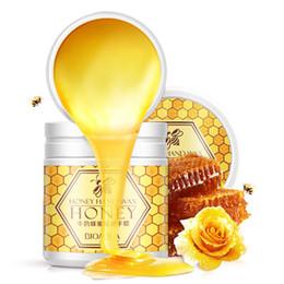 Wholesale Cream Wax - Milk Honey Hand Wax Treatment Hand Care Mask Cream Exfoliator Moisturize Whitening Nourishing Anti chapping Anti aging